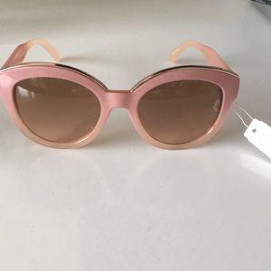Trendy Blush Sunglasses
